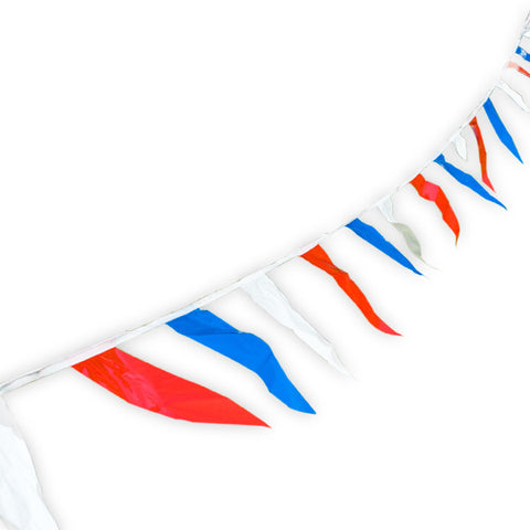 Red White & Blue Pennant Strings