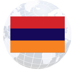 Armenia Outdoor Flags