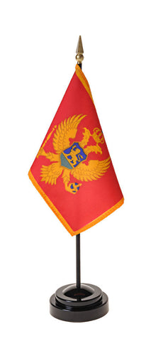 Montenegro Small Flags