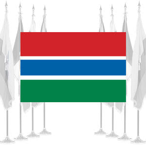 Gambia Ceremonial Flags