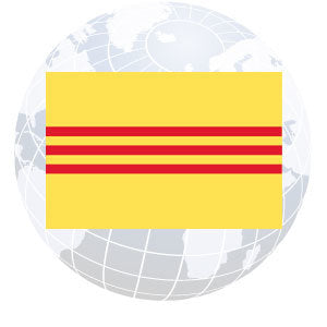 South Vietnam Outdoor Flags