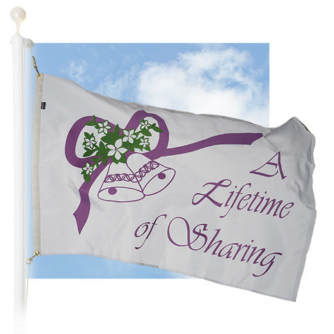 Celebration Outdoor Flags - Lifetime of Sharing