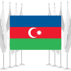 Azerbaijan Ceremonial Flags