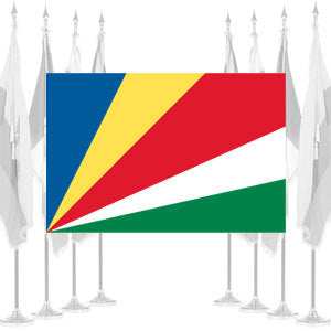 Seychelles Ceremonial Flags