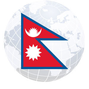 Nepal Outdoor Flags
