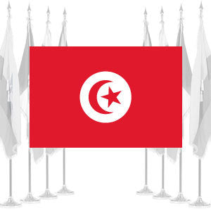 Tunisia Ceremonial Flags