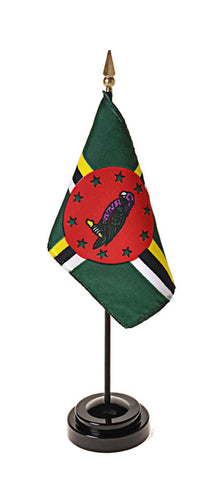Dominica Small Flags