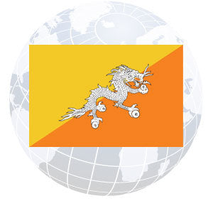Bhutan Outdoor Flags