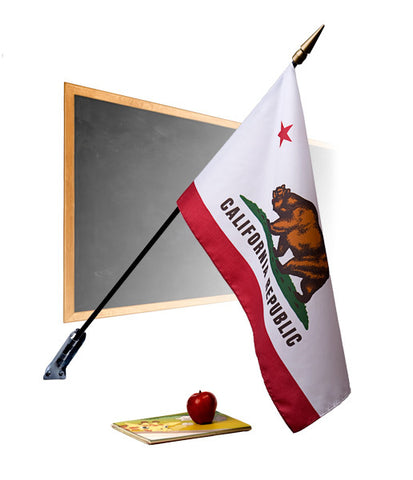 California Classroom Flags - Premium