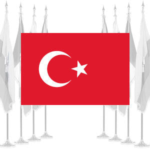 Turkey Ceremonial Flags