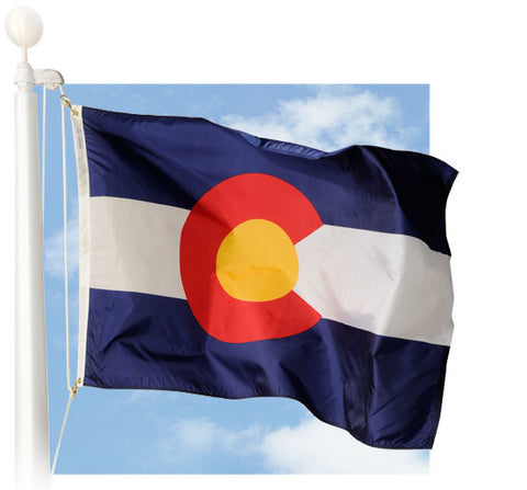 Colorado Outdoor Flags