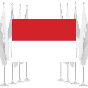 Indonesia Ceremonial Flags