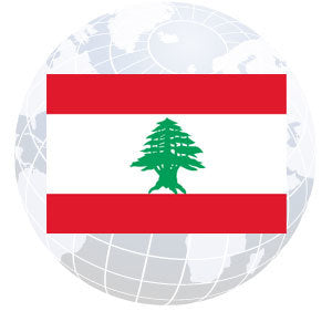 Lebanon Outdoor Flags