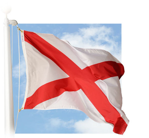 Alabama Outdoor Flags