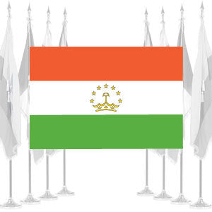 Tajikistan Ceremonial Flags