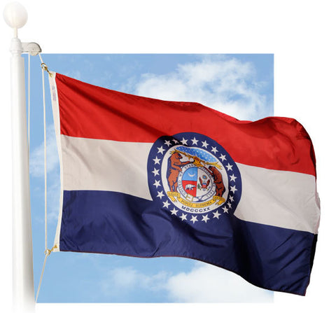 Missouri Outdoor Flags