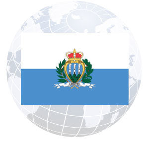 San Marino Government Outdoor Flags