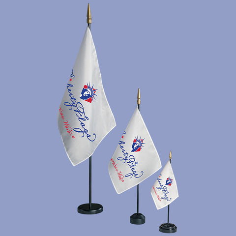 Miniature Logo Flags - Custom
