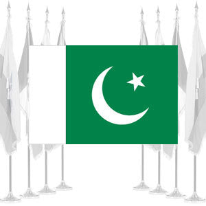 Pakistan Ceremonial Flags