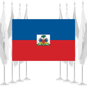 Haiti Government Ceremonial Flags