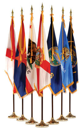 50 States - Ceremonial Flags and Sets
