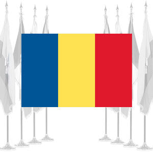 Romania Ceremonial Flags