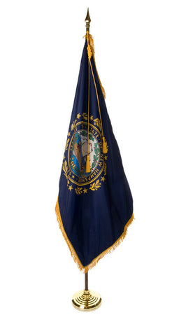 New Hampshire Ceremonial Flags and Sets