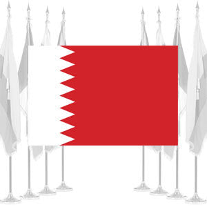 Bahrain Ceremonial Flags