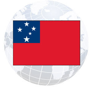 Western Samoa Outdoor Flags