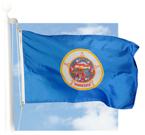 Minnesota Outdoor Flags