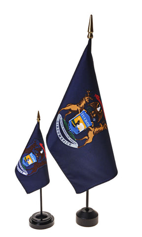 Michigan Small Flags