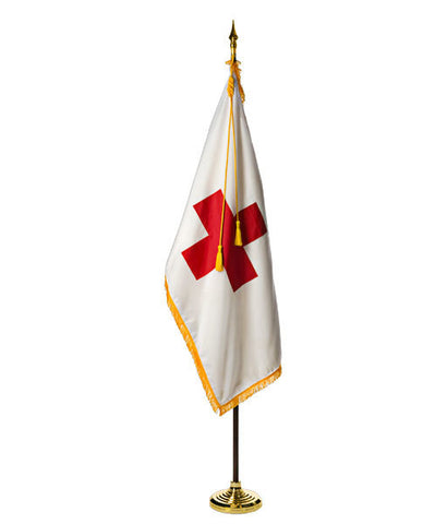 American Red Cross Ceremonial Flags and Display Sets