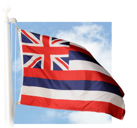 Hawaii Outdoor Flags