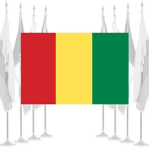 Guinea Ceremonial Flags