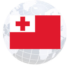 Tonga Outdoor Flags