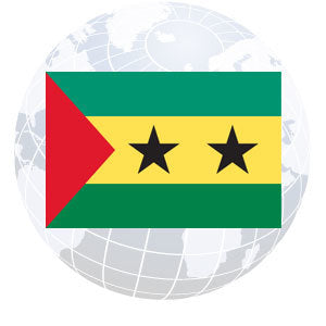 Sao Tome and Principe Outdoor Flags