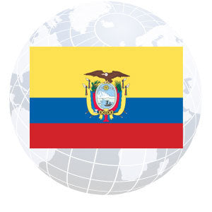 Ecuador Government Outdoor Flags