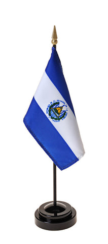 El Salvador Government Small Flags