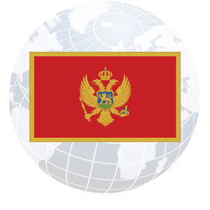 Montenegro Outdoor Flags