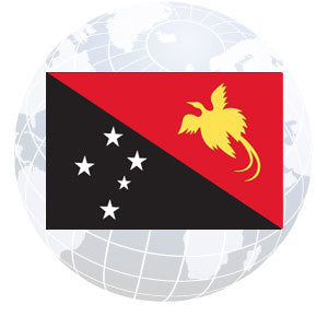 Papua-New Guinea Outdoor Flags