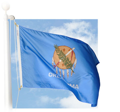 Oklahoma Outdoor Flags