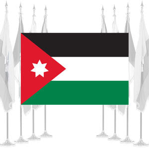 Jordan Ceremonial Flags