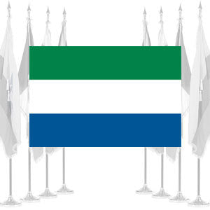 Sierra Leone Ceremonial Flags