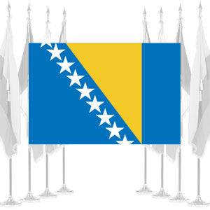Bosnia-Herzegovina Ceremonial Flags
