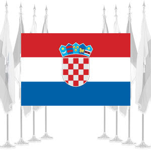 Croatia Ceremonial Flags