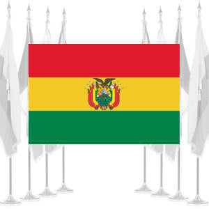 Bolivia Government Ceremonial Flags