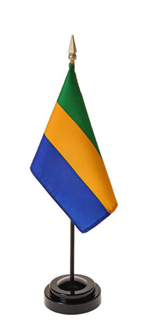 Gabon Small Flags