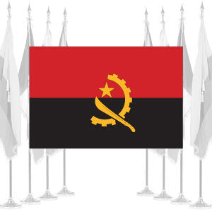 Angola Ceremonial Flags