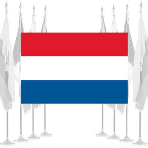 Netherlands Ceremonial Flags