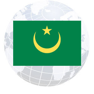 Mauritania Outdoor Flags